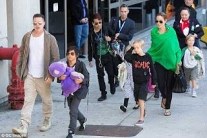 Brad Pitt files for joint custody of children he shares with Angelina Jolie (photos)